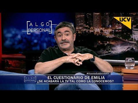 """video Vicente Sabatini: """"La TV es única e irremplazable"""""""