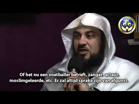 slaan - Een korte interview met Sheikh Mohammed al-'Arifi als reactie op de valse beschuldiging van het AD en consorten.