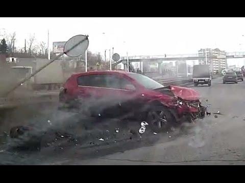 Жестокие и зрелищные аварии ноября