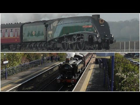 60009 Union Of South Africa And 9466 - Farewell To Nigel Dobbing And Dennis Howells MBE - 20/10/2018