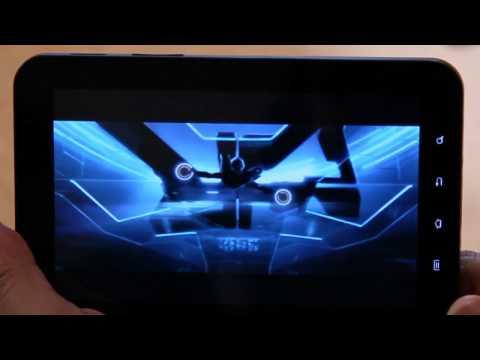 Samsung Galaxy Tab (Verizon Wireless) Video Review (HD)
