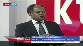 Studio interview: ICC ruling on the use of recanted evidence