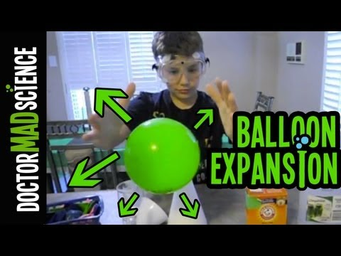 Download Blow up a balloon WITHOUT hands - Science Magic Tricks for Kids HD Mp4 3GP Video and MP3