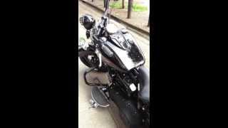5. 2010 HARLEY-DAVIDSON CUSTOM CROSSBONES FLSTSB @ West Coast Harley-Davidson, Glasgow, Scotland