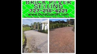 Best brick paver sealing company in the Tampa bay area. Don't just take my word for it - watch t