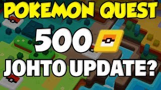 Pokemon Quest Update! 500PM Ticket Start + Johto Possible? (Pokemon Quest 1.1 Patch Notes) by Verlisify
