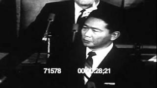 Ferdinand (IN) United States  city photo : Philippine Pres Ferdinand Marcos speech at the US Congress 1966