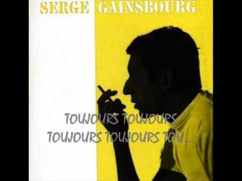 Tekst piosenki Serge Gainsbourg - Les Amours Perdues po polsku