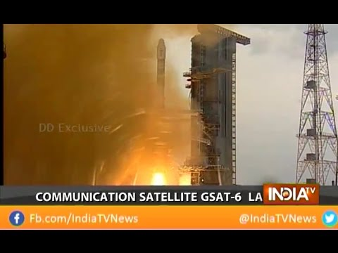 Indian Space Research Organisation (ISRO) successfully launches Communications Satellite GSAT-6