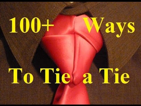 Animated-  How to Tie a Necktie Truelove Knot - How to Tie a Tie