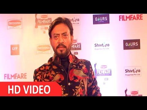 Irrfan Khan At Filmfare Awards 2016