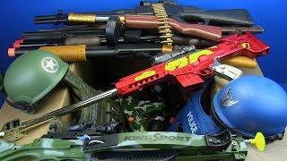 Video Box of Toys ! Military & Police Guns Toys - Toy for Kids MP3, 3GP, MP4, WEBM, AVI, FLV Juni 2019