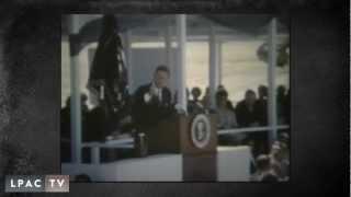 Los Banos (CA) United States  city pictures gallery : JFK the dedication of San Luis reservoir, in Los Banos CA