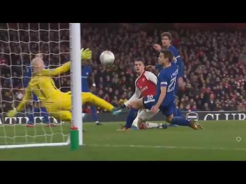 Arsenal vs Chelsea 2-1  ( All Goals -  Extended Highlights )  24-01-2018 HD