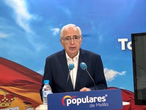 Imbroda plantea la entrada en la Unión Aduanera, equiparando Melilla a las regiones ultraperiféricas