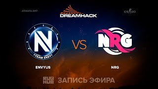 EnVyUs vs NRG - DreamHack Open Atlanta 2017 - de_cobblestone [yXo, CrystalMay]