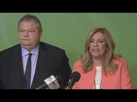 Δηλώσεις Ευ. Βενιζέλου και Φ. Γεννηματά για διαπραγμάτευση και ΠΑΣΟΚ