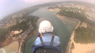 Evans Head Australia  city photos : Gopro gyrocopter at Evans Head, Australia