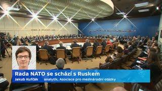 Rada NATO se schází s Ruskem