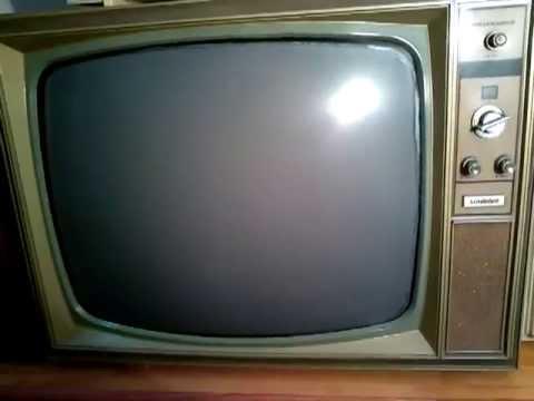Televisores antiguos a os 60 70 - Television anos 70 ...