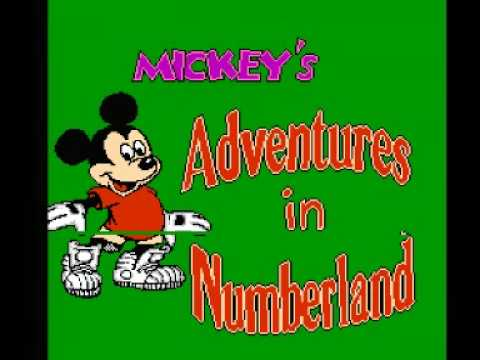 Mickey's Adventures in Numberland NES