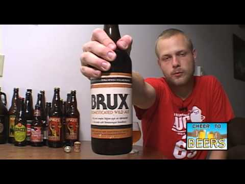 BRUX (Sierra Nevada and Russian River Collaboration) Domesticated Wild Ale | Beer Review #97