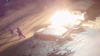 Сожгли авто тому самому парню, который на паркинге чинуш порядок наводил
