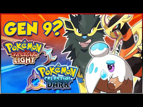 GEN 9 NORDEN FORMS, FOSSILS & LEGENDS!   Pokemon Infernal Light & Celestial Dark (Pokedex)