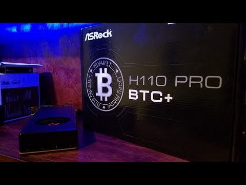 Asrock H110 Pro BTC+ 13 GPU Mining Motherboard CryptoCurrency Unboxing