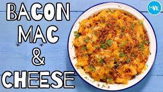 Bacon Mac & Cheese Recipe by  My Virgin Kitchen