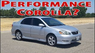 10. 2006 Toyota Corolla XRS - Not your typical Corolla