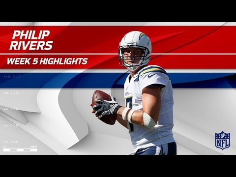 Video: Philip Rivers' Triple TD Day vs. New York | Chargers vs. Giants | Wk 5 Player Highlights