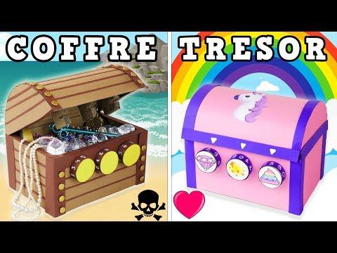 COFFRE TRESOR CODE SECRET LICORNE PIRATE