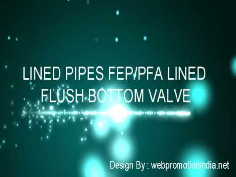 FEP Lined Valves Manufacturer, FEP Granular Material