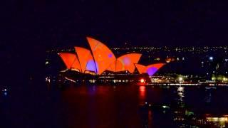 Animasyonlarla Canlanan Sidney Opera Evi