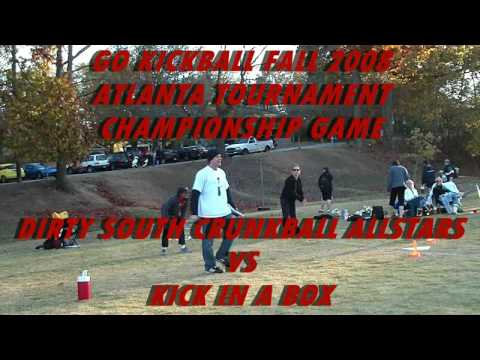 (5) Dirty South Crunkball Allstars vs Kick In A Box - HD