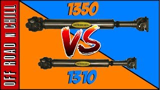 Here is a Little video showing the Difference Between Tom Woods 1310 VS 1350, Tom woods makes the best Jeep Driveshaft in the market so If you ever need one just give them a call, there is a big difference between this two Tom Woods driveshaft, the new one is the Tom woods 1350 and the other is the Tom woods 1310.Tom Woods Driveshaft2147 N. Rulon White Blvd. Suite #103 Ogden, UT  84404Phone: 1-801-737-0757Follow us on:Facebook: ( https://www.facebook.com/OffRoadnchill )Instagram: ( https://www.instagram.com/offroadnchill )Twitter:  ( https://twitter.com/OffRoadnChil  )