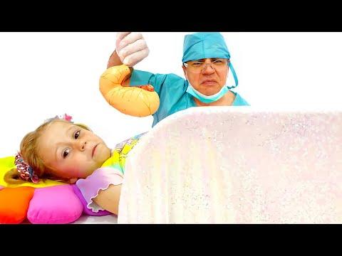 Nastya ve baba, ellerini yıkamanın ne kadar önemli olduğunun hikayesi