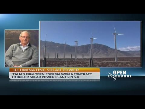 S.Africa moving towards renewable energy