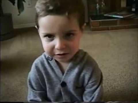 2 year old Jared sings Elvis Presley -