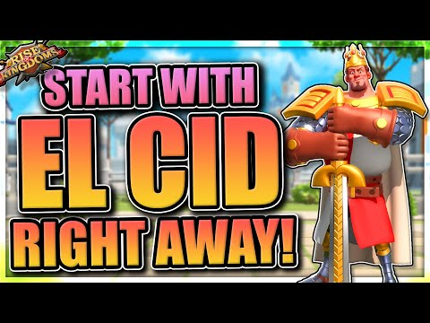 The best players use El Cid in Rise of Kingdoms [Full 2020 Guide with Talents]
