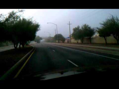 The running ghost in Tucson