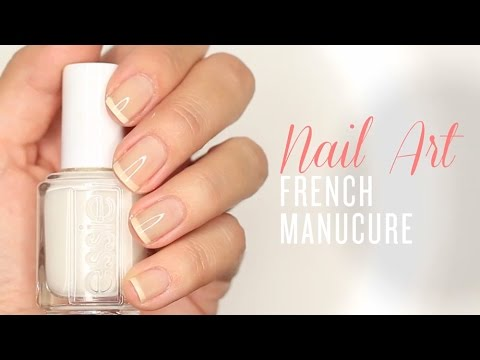 comment appliquer french manucure