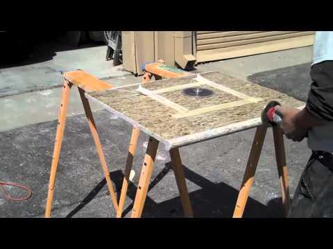 Prefabricated Granite Countertop Fabrication