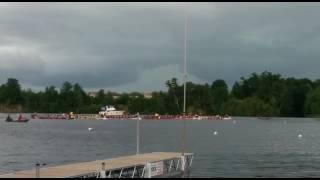 100m A Final Ottawa dragonboat festival 2017