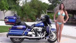 6. Used 2007 Harley Davidson FLHTCU Ultra Classic Electra Glide Motorcycle for sale