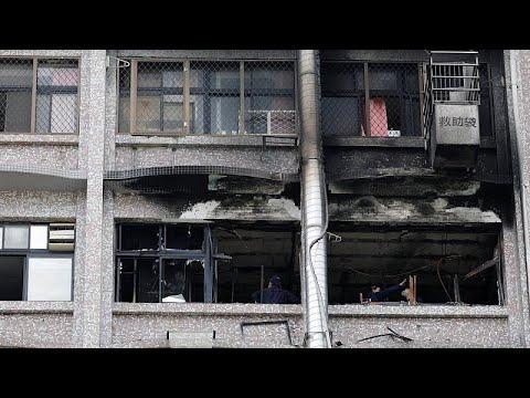 Ταϊβάν: Μεγάλη φωτιά σε νοσοκομείο