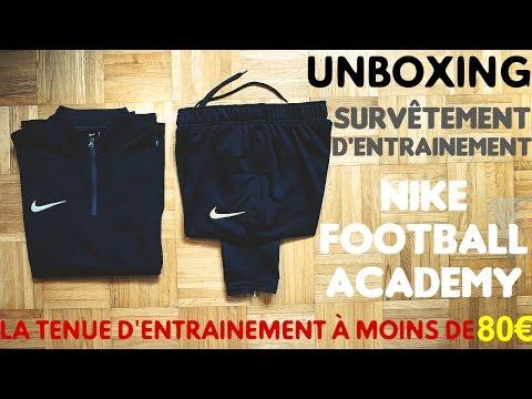 UNBOXING #3 - SURVÊTEMENT NIKE FOOTBALL ACADEMY - LA TENUE À MOINS DE 80€ !