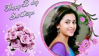 Actress Sri Divya Celebrated Her 29th Birthday…! Kollywood News 25/05/2016 Tamil Cinema Online