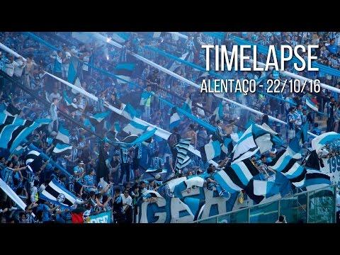 ALENTAÇO - Timelapse da torcida entrando na Arena - 22/10/16 - Geral do Grêmio - Grêmio